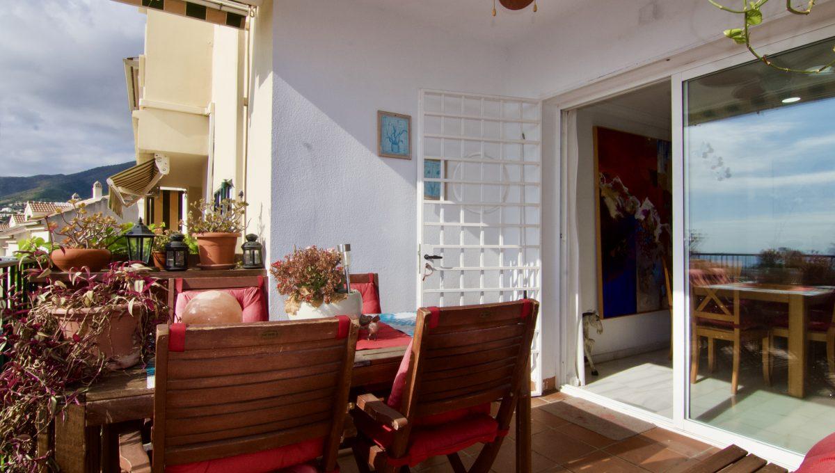 Adosado con vistas panorámicas en Benalmádena