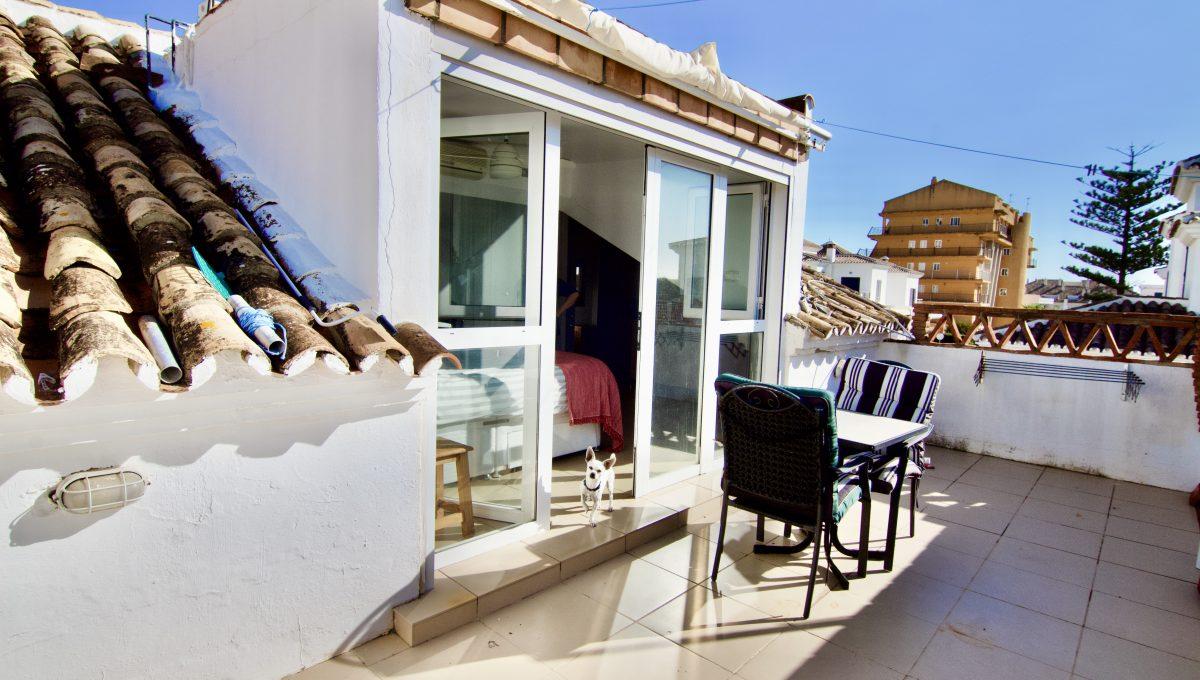 Casa con piscina privada en Benalmádena