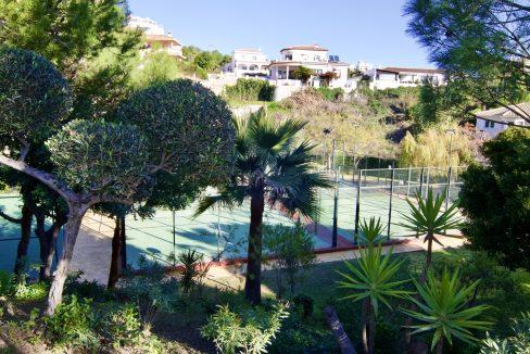 Adosado con jardín en Benalmádena Costa