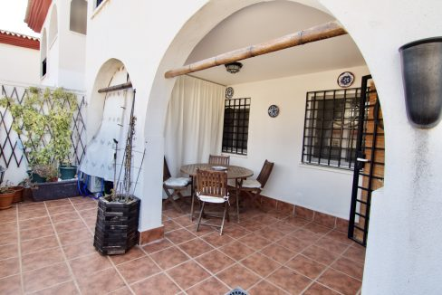 Apartamento con terraza amplia