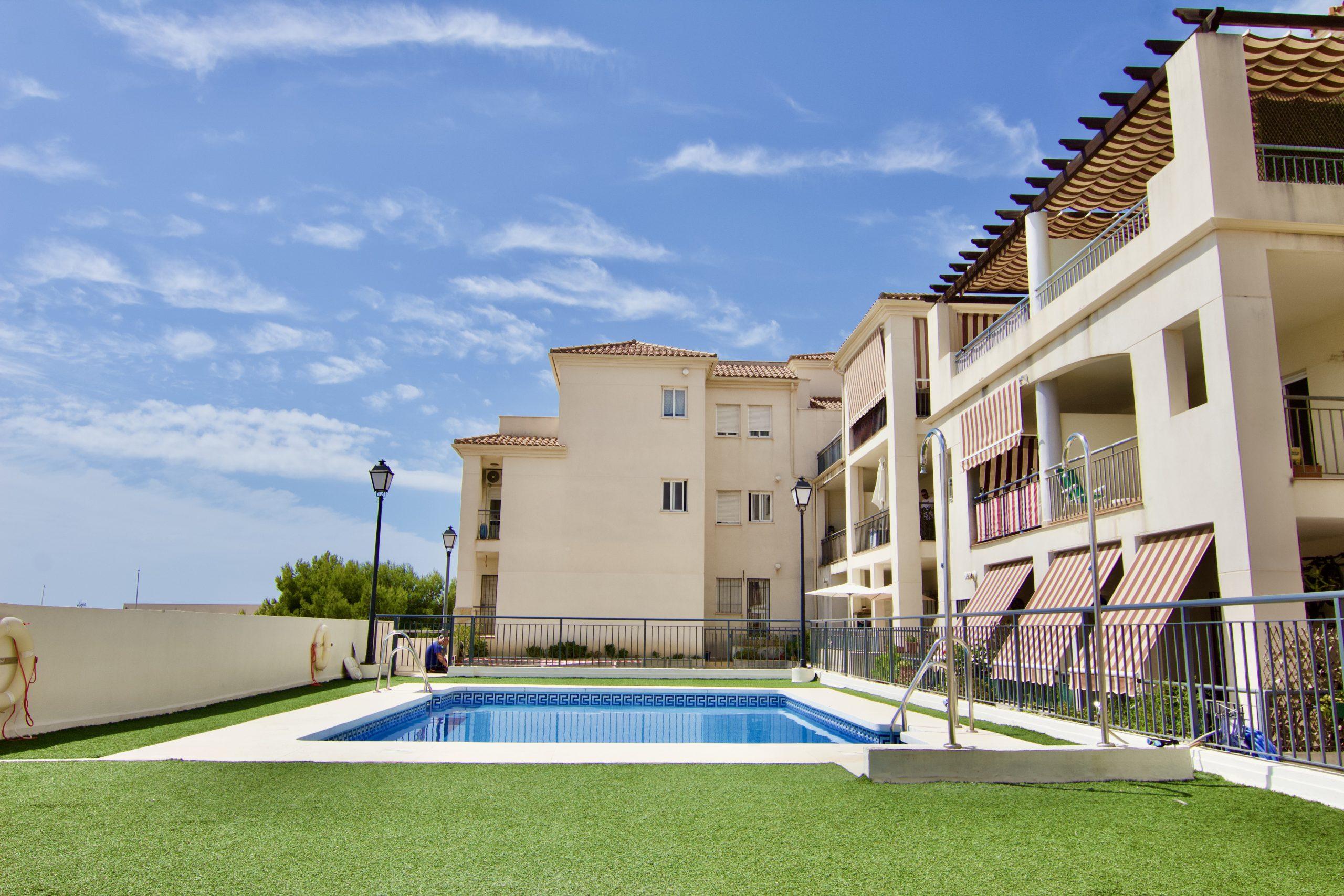 Apartamento en residencial de Benalmádena