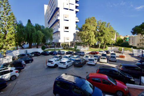 Apartamento con amplia terraza en el centro